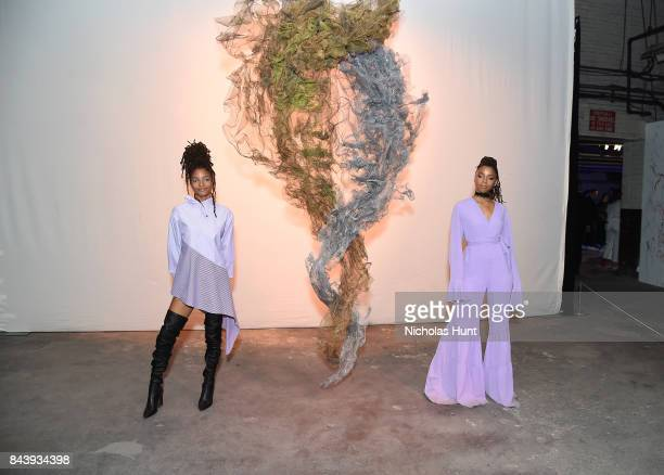 B duo Chloe X Halle attends the Refinery29 Third Annual 29Rooms Turn It Into Art event on September 7 2017 in the Brooklyn borough of New York City