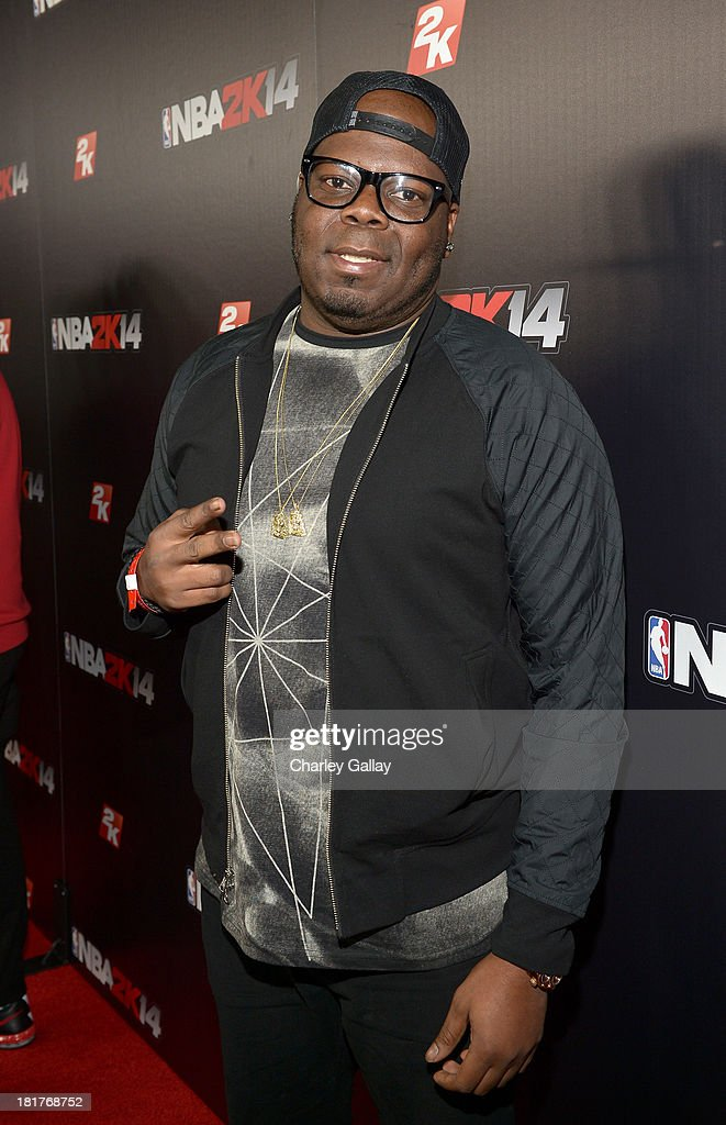 JR Duperrier, NBA Sports Marketing at Adidas, attends the NBA 2K14 premiere party at Greystone Manor on September 24, 2013 in West Hollywood, California.