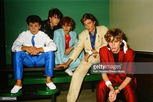 Duran Duran at photo studio in Tokyo April 25