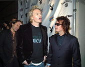 Duran Duran during Playboy's Annual Super Saturday Night Event Brings 'Heaven and Hell' to Houston at Corinthian in Houston Texas United States