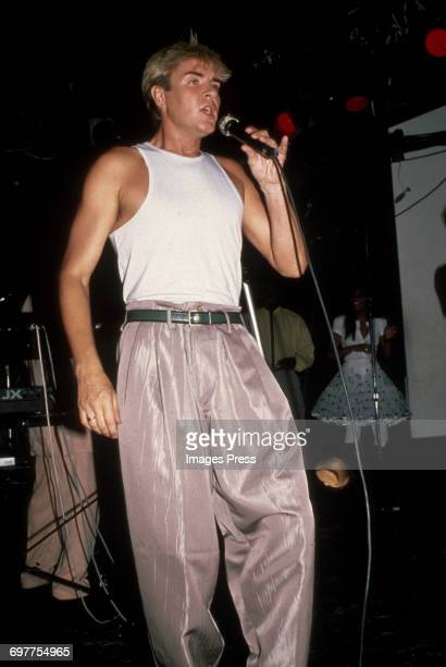 Duran Duran in concert circa 1987 in New York City