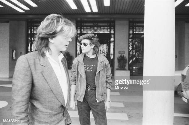 Duran Duran in Montreux Switzerland for the Montreux Golden Rose Pop Festival 11th May 1984