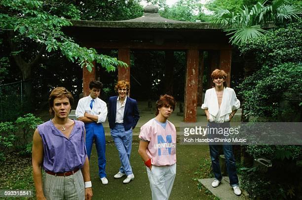 Duran Duran John Taylor at Atagoyama in Tokyo May 2 1982