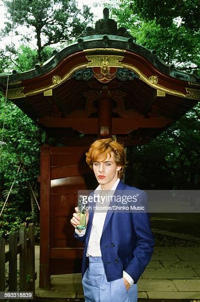 Duran Duran Nick Rhodes at Atagoyama in Tokyo May 2 1982