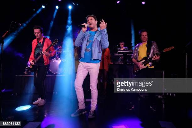 Duran Duran performs live for SiriusXM at The Faena Theater in Miami Beach during Art Basel on December 9 2017 in Miami Beach Florida