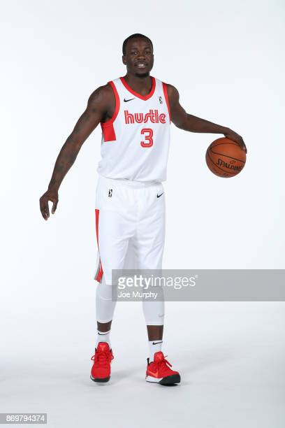 Durand Scott of the Memphis Hustle poses for a portrait during the NBA GLeague media day on November 2 2017 at FedExForum in Memphis Tennessee NOTE...