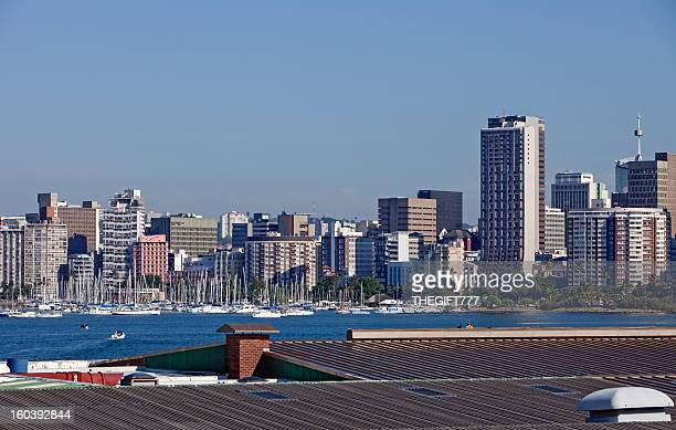 Durban Cityscape with Yacht Club