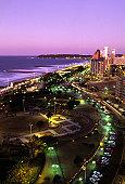 Durban, the Golden Mile beachfront.