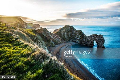 Durdle Door, Dorset beach : Stock Photo
