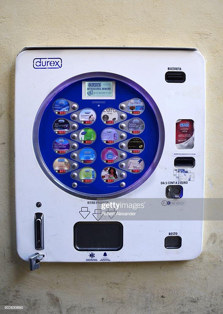 durex vending machine products