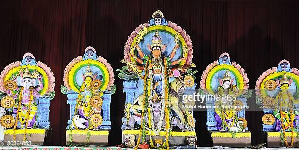 Durga Idol, Durga Puja Celebrations, New Delhi