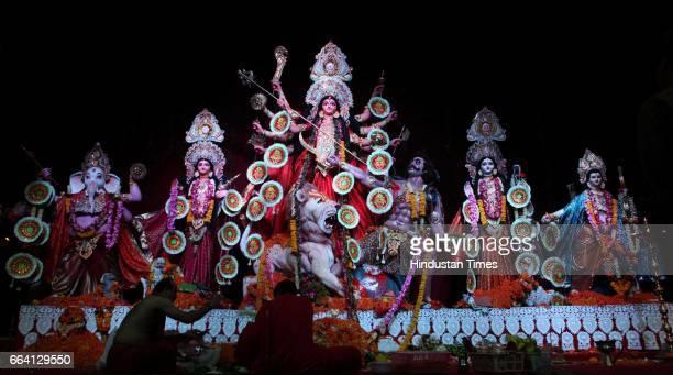 Durga pooja at shivaji park