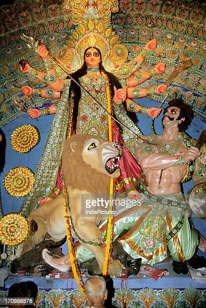Durga puja festival Kolkata West Bengal India
