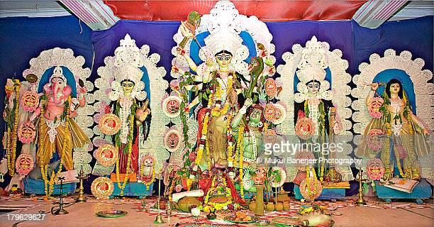Durga Puja Idols, India