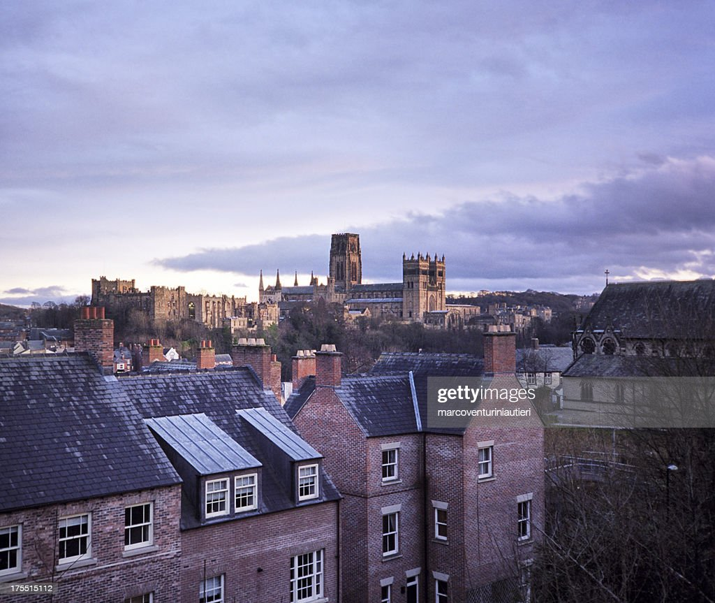 Durham and its Cathedral, evening
