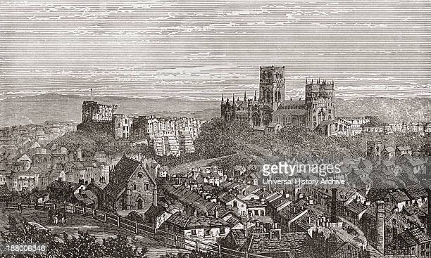 Durham Cathedral And Castle England In The Late 19Th Century From Our Own Country Published 1898