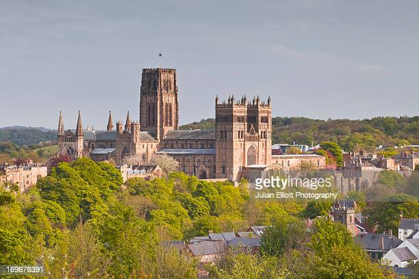 Durham cathedral dating from Norman times.