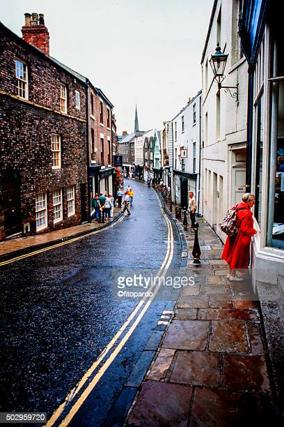 Durham, England City Street