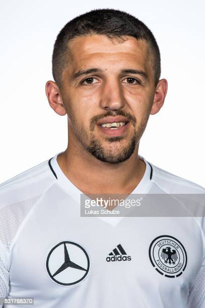 Durim Elezi poses at Sport School Wedau on August 11 2017 in Duisburg Germany