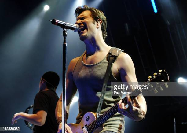 311 during 311 in Concert July 7 2004 at DTE Energy Music Theater in Clarkston Michigan United States