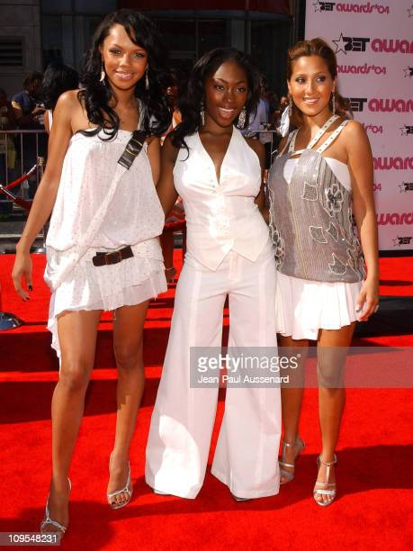 3LW during 4th Annual BET Awards Arrivals at Kodak Theatre in Hollywood California United States