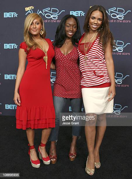 3LW during 6th Annual BET Awards Media Day at Shrine Auditorium in Los Angeles CA United States