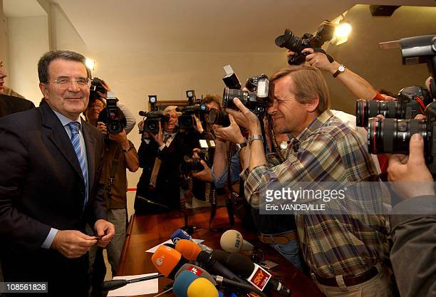 During a press conference in Rome Italy's centerleft leader Romano Prodi said he doesn't fear a reversal of parliamentary election results insisting...