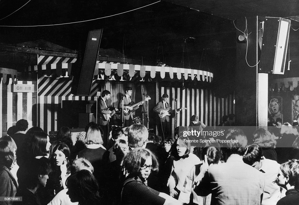 During a teenage dance at London's Marquee Club sponsored by pirate radio station Radio London