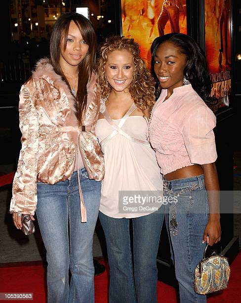 3LW during 'Coach Carter' Los Angeles Premiere Arrivals at Grauman's Chinese Theatre in Hollywood California United States