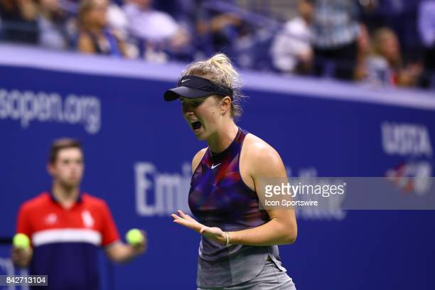 during day eight match of the 2017 US Open on September 04 2017 at Billie Jean King National Tennis Center Flushing Meadow NY