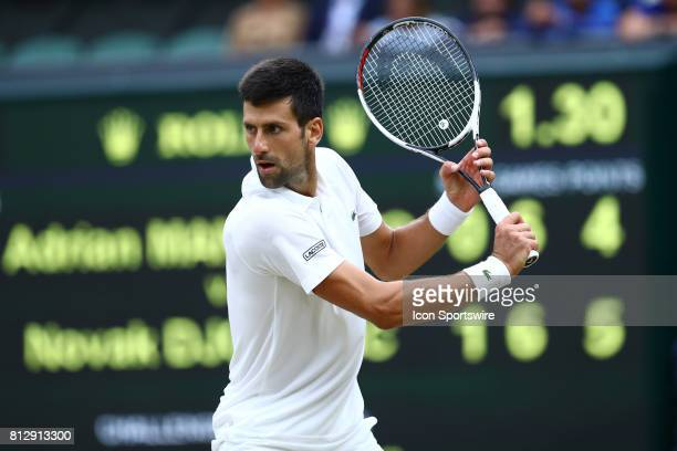 during day eight match of the 2017 Wimbledon on July 11 at All England Lawn Tennis and Croquet Club in London England