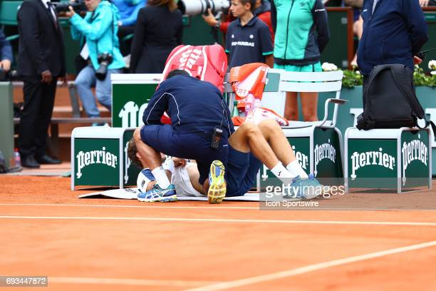 during day eleven match of the 2017 French Open on June 7 at Stade RolandGarros in Paris France
