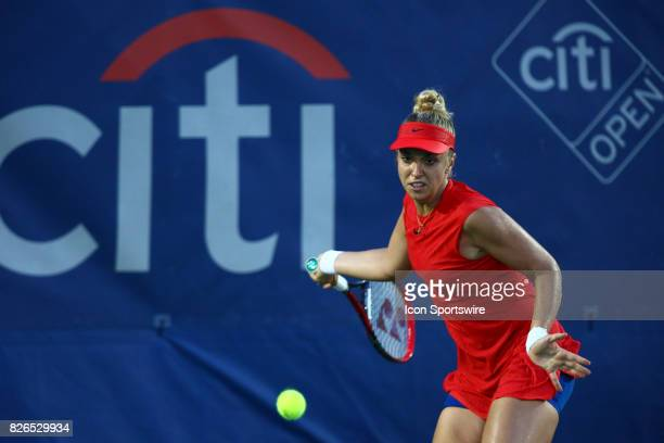 during day five match of the 2017 Citi Open on August 4 2017 at Rock Creek Park Tennis Center in Washington DC