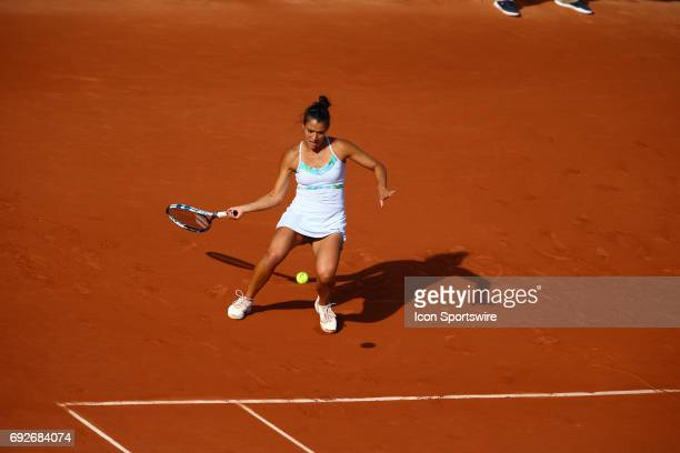during day nine match of the 2017 French Open on June 5 at Stade RolandGarros in Paris France