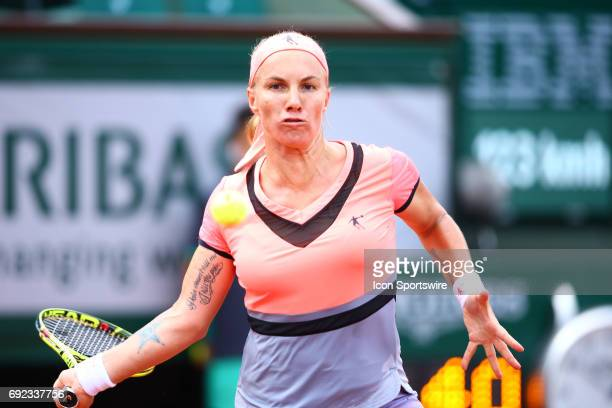 during day seven match of the 2017 French Open on June 4 at Stade RolandGarros in Paris France