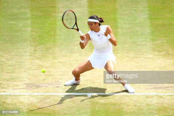 during day seven match of the 2017 Wimbledon on July 10 at All England Lawn Tennis and Croquet Club in LondonEngland
