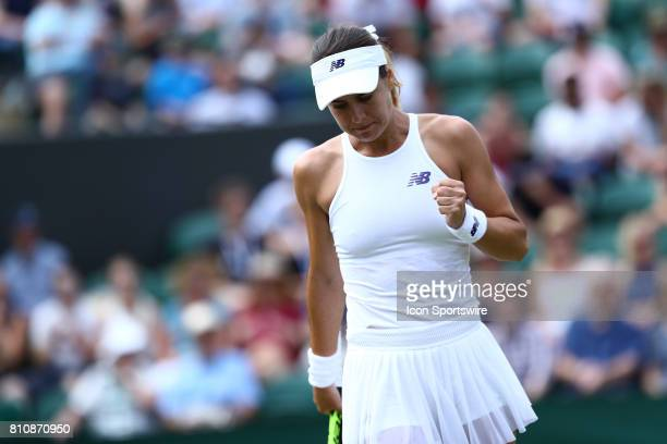 during day six match of the 2017 Wimbledon on July 8 at All England Lawn Tennis and Croquet Club in LondonEngland