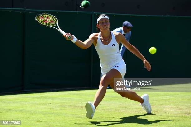during day three match of the 2017 Wimbledon on July 5 at All England Lawn Tennis and Croquet Club in LondonEngland