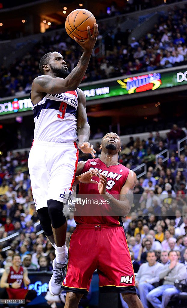 during first-quarter action at the Verizon Center in Washington, D.C., Tuesday, December 4, 2012.
