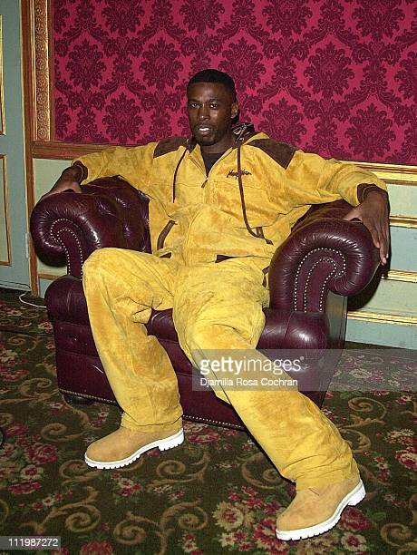 GZA during GZA and WuTang Clan 2002 Video Shoot at Etoile in New York City New York United States
