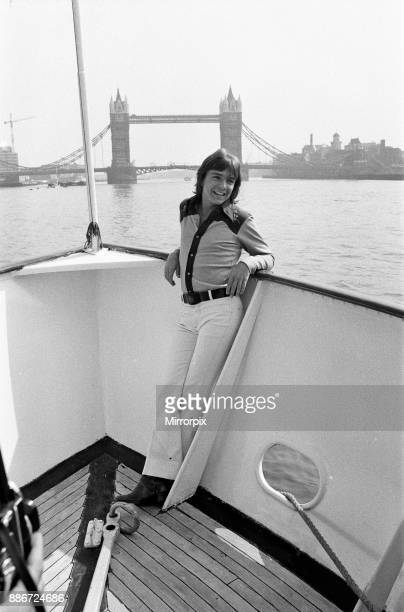 During his visit to London David Cassidy stay aboard the 120 ft luxury yacht 'Ocean Sabre' which he has personally chartered and which is moored in...