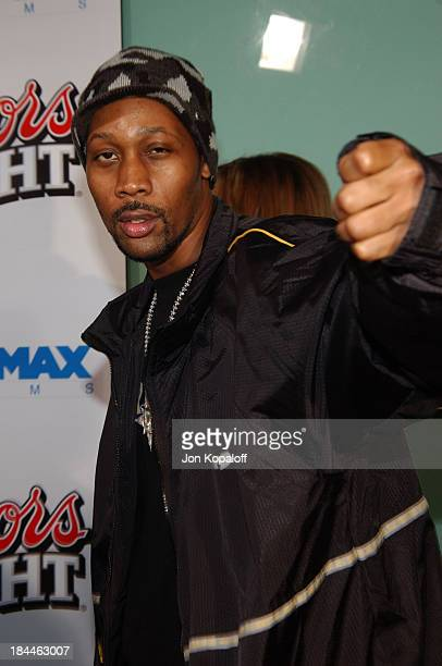 RZA during 'Kill Bill Vol 2' World Premiere Red Carpet at Arclight Cinerama Dome in Los Angeles California United States