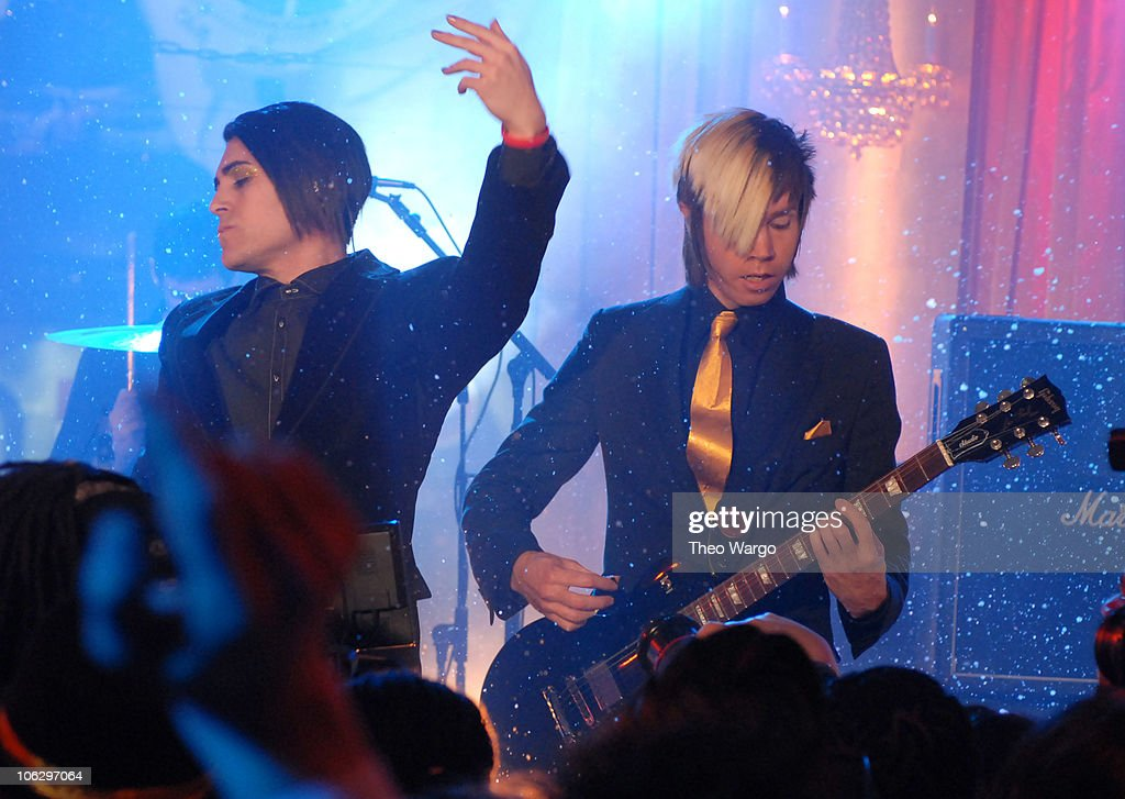 New Year's Eve 2007 Live at MTV's Times Square Studios at MTV Studios in New York City, New York, United States.