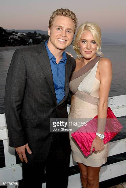 MALIBU CA AUGUST 18 during MTV's live premiere and party of 'The Hills' held at the Paradise Cove Beach Cafe on August 18 2008 in Malibu California