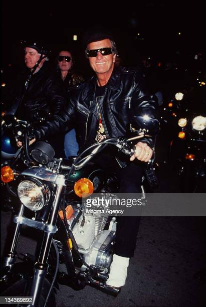 PAT BOONE during Promoting New Album at Hollywood in Hollywood CA United States