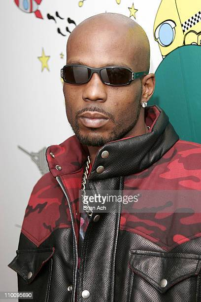 DMX during Rick Ross DMX Mobb Deep and Olivia Visit MTV2 April 6 2006 at MTV Studios in New York City New York United States
