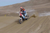 /KTM BIKE during Stage 10 of the 2014 Dakar Rally between Iquique and Antofagasta Chile on January 15 2014