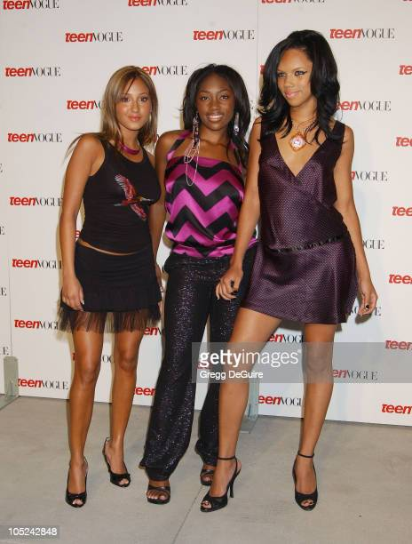 3LW during Teen Vogue Celebrates Its First Annual Young Hollywood Issue at Private Residence in Beverly Hills California United States