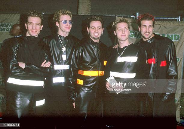 *NSYNC during The 10th Annual Billboard Music Awards at MGM Grand Hotel in Las Vegas Nevada United States