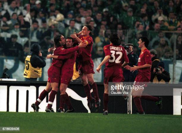 GOAL during the 11st round SERIE A game LAZIO Vs ROMA played at the OLYMPIC